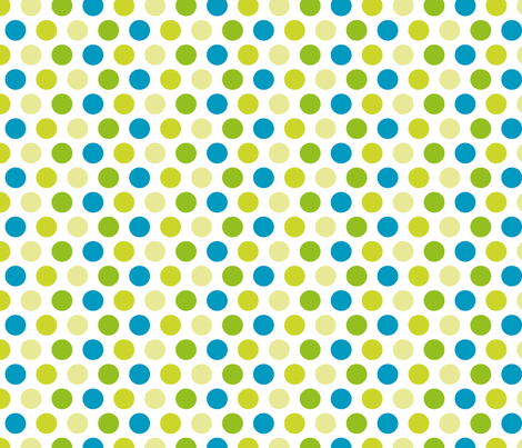 spring dots fabric by suziedesign on Spoonflower - custom fabric