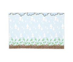 Welcome Spring! - Border (zoom in to see the whole design and details)