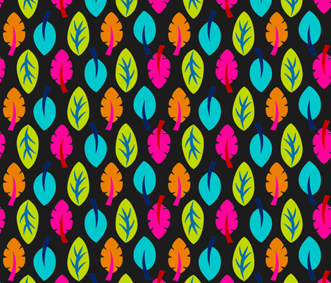 Lucky Leaves fabric by hayley_sayles on Spoonflower - custom fabric