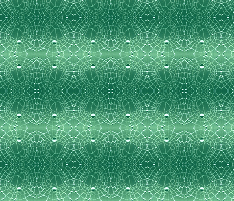 Cobwebs in the rain fabric by edsel2084 on Spoonflower - custom fabric