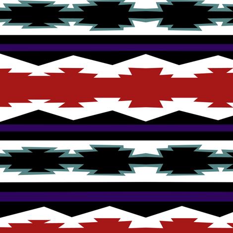 Geometric Snake Coordinate II. fabric by pond_ripple on Spoonflower - custom fabric