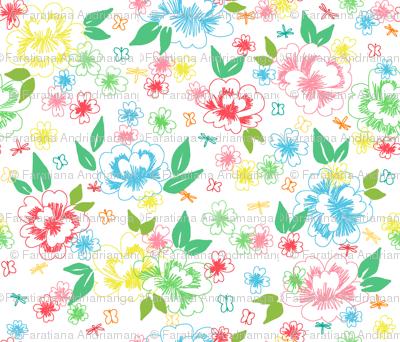 Printemps en fleur
