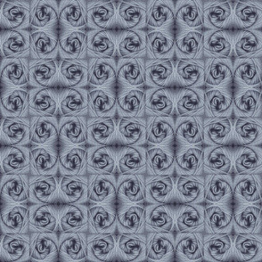 Yarn Swirls - Steel Gray