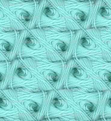 Turquoise Trellis