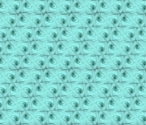 Turquoise Trellis fabric by cricketswool on Spoonflower - custom fabric