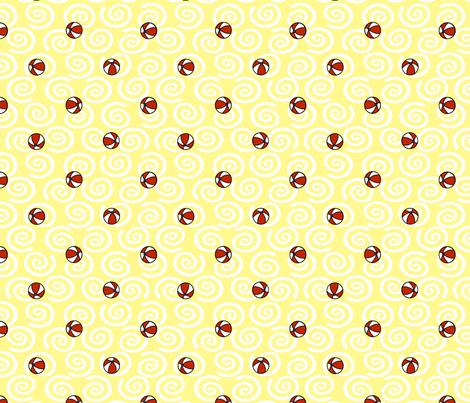 © 2011 WLBAMO - Balls and Sand fabric by glimmericks on Spoonflower - custom fabric