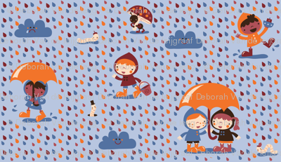 A happy rainy day!
