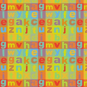 Alphabet Colours