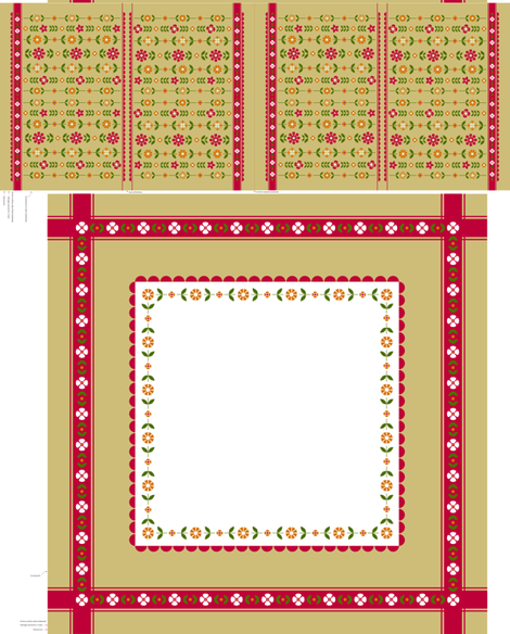 FolkTablecloth fabric by sorensen on Spoonflower - custom fabric