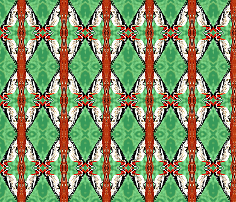 Woodpecker Diamonds fabric by robin_rice on Spoonflower - custom fabric