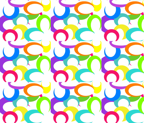 super_cool_circles_white_version fabric by mollymoo on Spoonflower - custom fabric