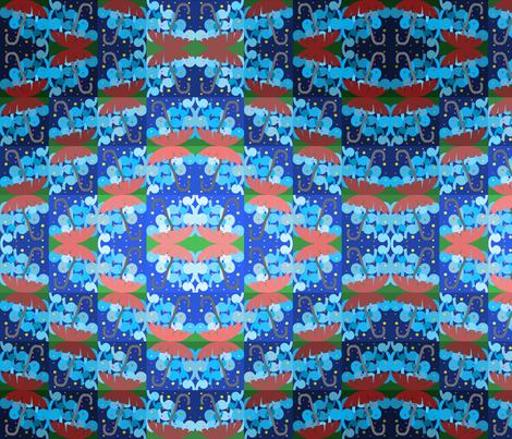 rain-final1 fabric by huneebee1976 on Spoonflower - custom fabric