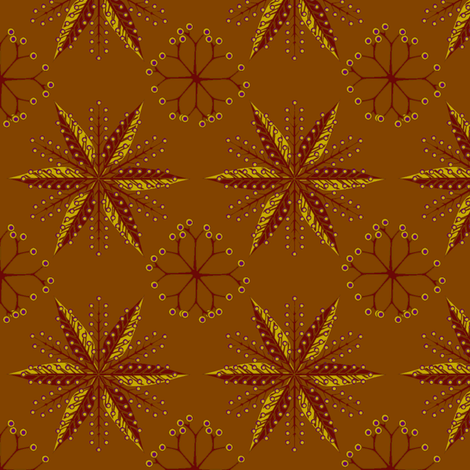 © 2011 Nordic Spice fabric by glimmericks on Spoonflower - custom fabric