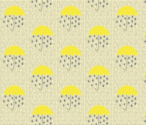 rain_copy1 fabric by graydensmama on Spoonflower - custom fabric