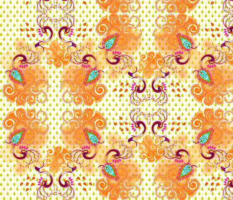 rain dance fabric by sarah_joseph on Spoonflower - custom fabric