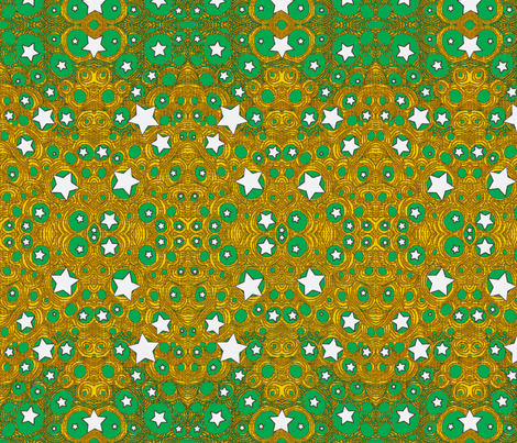 JamJax White Star fabric by jamjax on Spoonflower - custom fabric