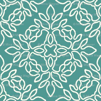 BLUE-GREEN_mini-papercut_cream-outlines