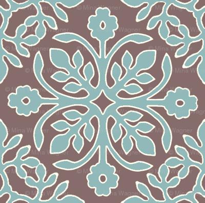 COCOA-BROWN_2_papercuts_diagonal_AQUA_cream-lines