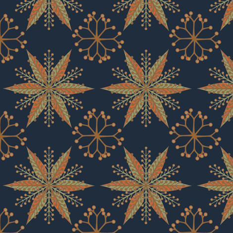 © 2011 Nordic Colonial fabric by glimmericks on Spoonflower - custom fabric