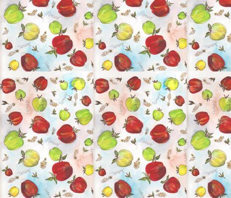 Honey fabric by marlasnyder on Spoonflower - custom fabric
