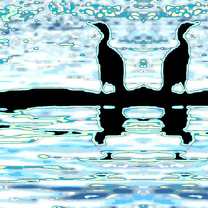 Water Birds Watching and Waiting (larger)