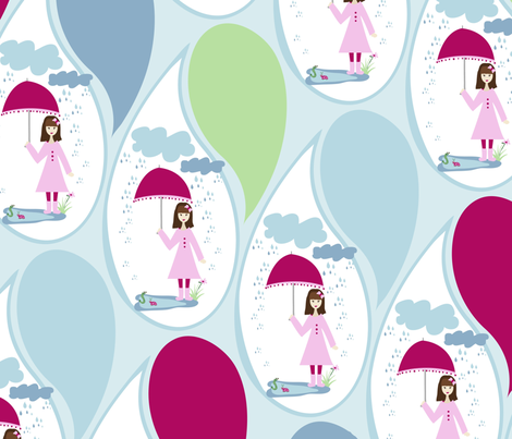 rain_final_pattern-1 fabric by studio9:05 on Spoonflower - custom fabric