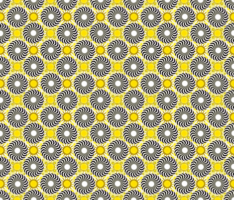 Spiral Dots fabric by joanmclemore on Spoonflower - custom fabric