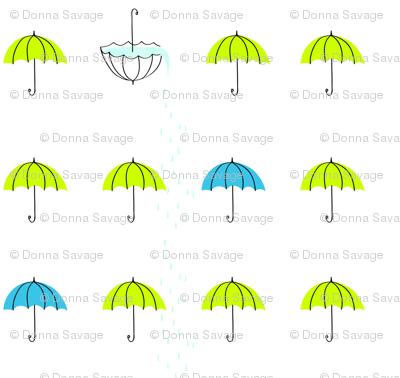 lime umbrellas