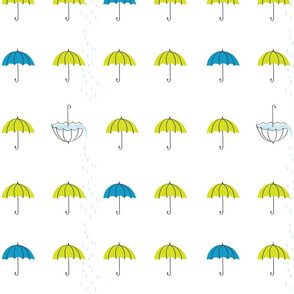 lime umbrellas