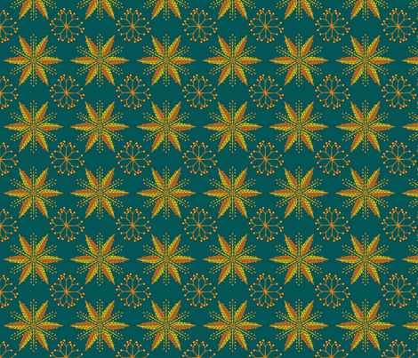 © 2011 Nordic Spruce fabric by glimmericks on Spoonflower - custom fabric