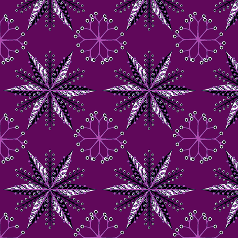 © 2011 Nordic Spooky fabric by glimmericks on Spoonflower - custom fabric