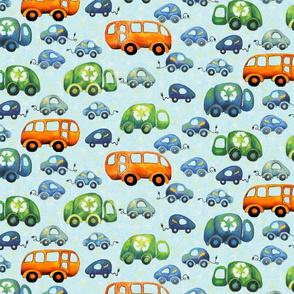 Green Wheels (Medium)