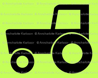 many tractors-ed