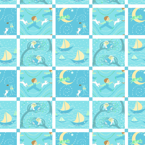 lullaby quilt collection fabric by vo_aka_virginiao on Spoonflower - custom fabric