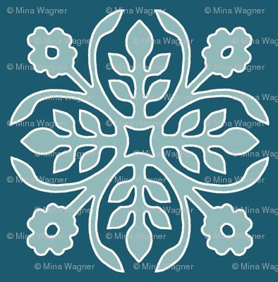 DEEP-PEACOCK_papercut2-rose_TURQ_offwhite-lines