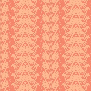 Two Tone Abstract - pink
