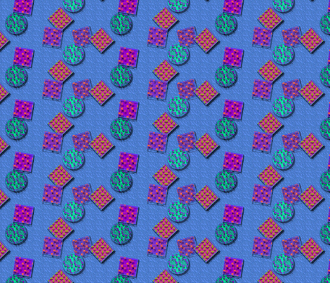 © 2011 stained glass fabric by glimmericks on Spoonflower - custom fabric