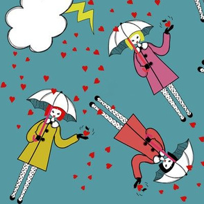 The love rain