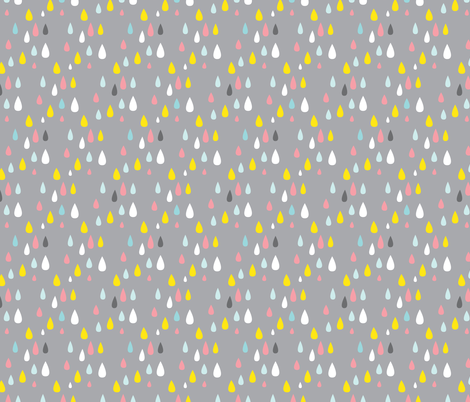 Tears of the rain gods fabric by zesti on Spoonflower - custom fabric