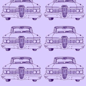Purple 1959 Edsel Ranger or Corsair