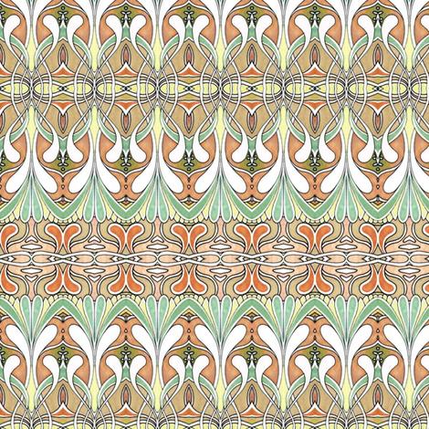Swirlygig in autumn fabric by edsel2084 on Spoonflower - custom fabric