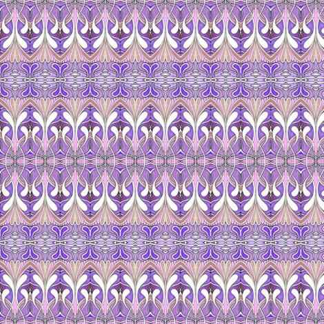 Swirlygig in purple fabric by edsel2084 on Spoonflower - custom fabric