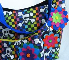 Checker Rainbow Skull