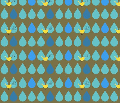 Singin' in the Rain fabric by aa on Spoonflower - custom fabric