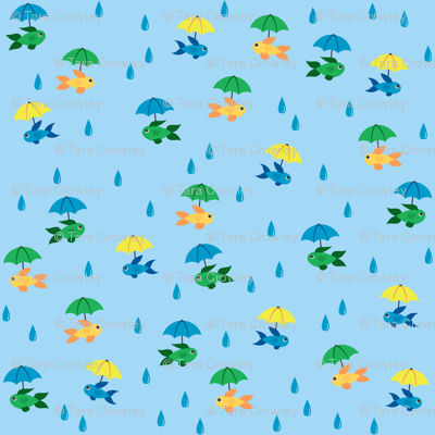 A World of Rain Fish