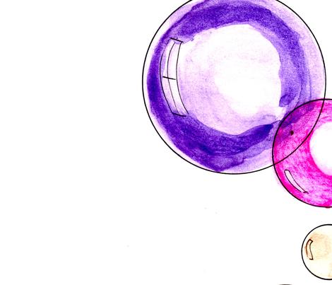I wish I had soap balls in my room! fabric by mimi&me on Spoonflower - custom fabric