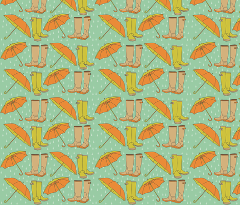 rain_gear fabric by nomenclature on Spoonflower - custom fabric
