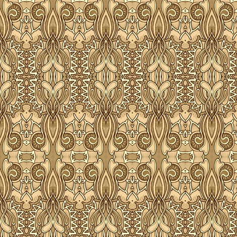 April Showers Bring April Mud Puddles fabric by edsel2084 on Spoonflower - custom fabric