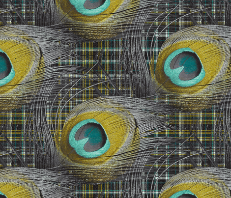 A Vain Scotsman fabric by peacoquettedesigns on Spoonflower - custom fabric