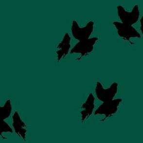 mother's hens (pine+tar)